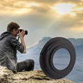 M42 Mount Lens Aluminum manual focus and manual exposure For Nikon AI F Camera Mount Adapter Ring D7000 D3000 D80