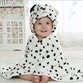 3D Dos Desenhos Animados Flanela Manto Toalha Com Capuz Animal Modelagem Do Bebê Banho Do Bebê Toalha Toalha Robe Branco Estilos Roupão de Banho Cobertor