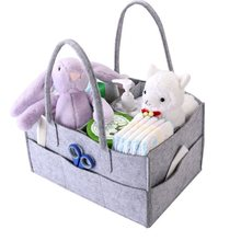 Buy Foldable Baby Diaper Caddy Bag Portable Handbag  Gift Kid Toys Storage Bag Box for Car Travel Changing Table Organizer directly from merchant!