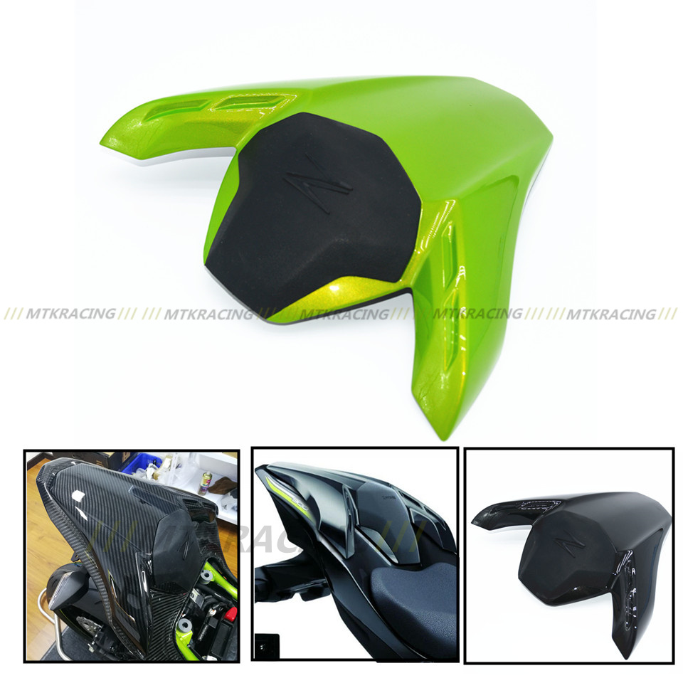 MTKRACING Passenger Rear Seat Cover Cowl Solo Seat Cowl Rear Fairing Set For Kawasaki 900 2017 for kawasaki zx6r zx 6r 2000 2002 motorbike seat cover brand new motorcycle white fairing rear sear cowl cover free shipping h34