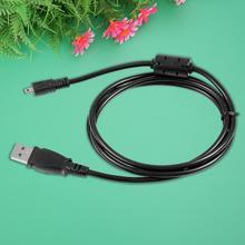 USB 2,0 зарядное устройство синхронизации 8Pin кабель для Panasonic для Lumix DMC-ZS30 DMC-TZ40 камеры черный Горячее предложение