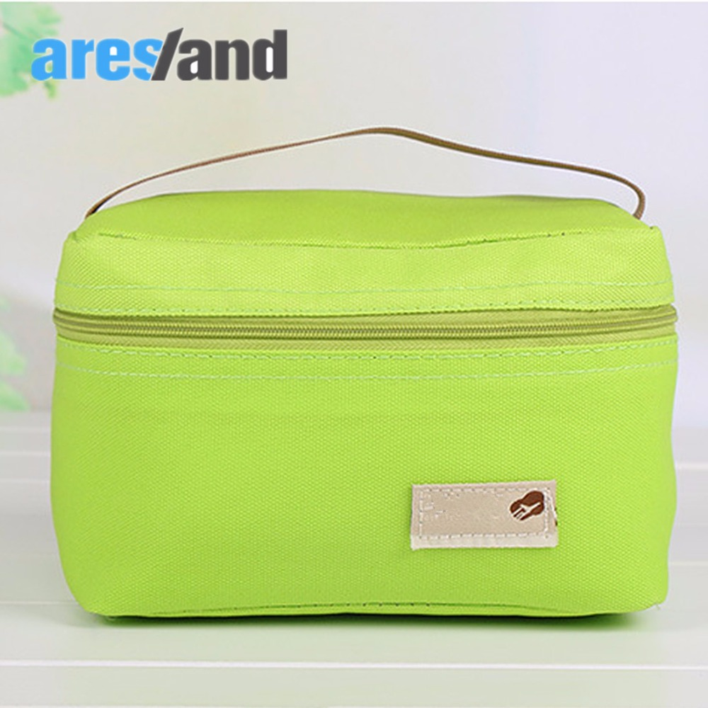 Aresland portable Lunch Bag for kids Women lunch box children picnic food bag Thermal Cooler Bento Pouch Insulation Thermo Bag aresland insulated lunch bag for women kids thermal cooler picnic food bags for women lady thicken cold insulation thermo bag
