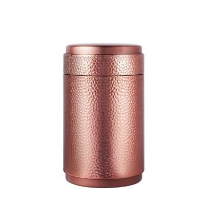 10 * 17cm kulaté užitečné čajové obaly / skladování / stříbrný čaj cín krabice / velkoobchod