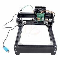 Assembled 10W laser 10000MW diy laser engraving machine 14*20cm metal engraver marking machine