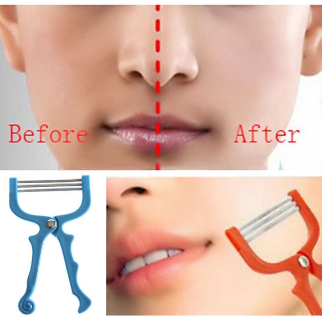 Popular Women Girl Facial Hair Removal Threading Epilator Face Beauty Tool 1