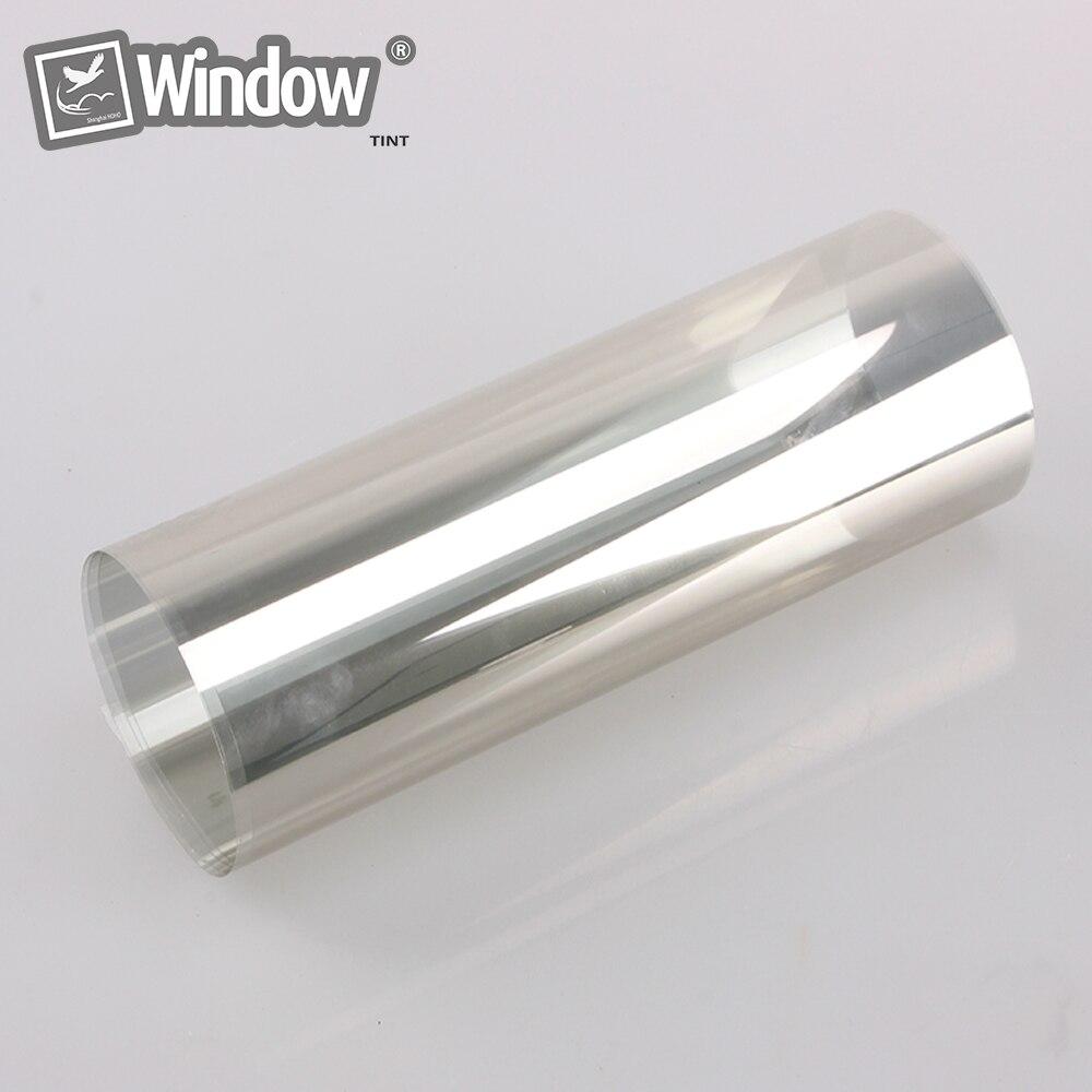 Teinte métallisée teinte de fenêtre de contrôle solaire 1.52x15 m 70% VLT film de fenêtre de voiture