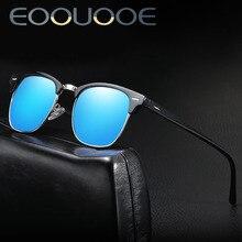c2a535113833e EOOUOOE Retro do PROJETO Piloto Óculos de Sol Das Mulheres Dos Homens Óculos  de Lente Polarizada Óculos de Condução Clássicos Óc..