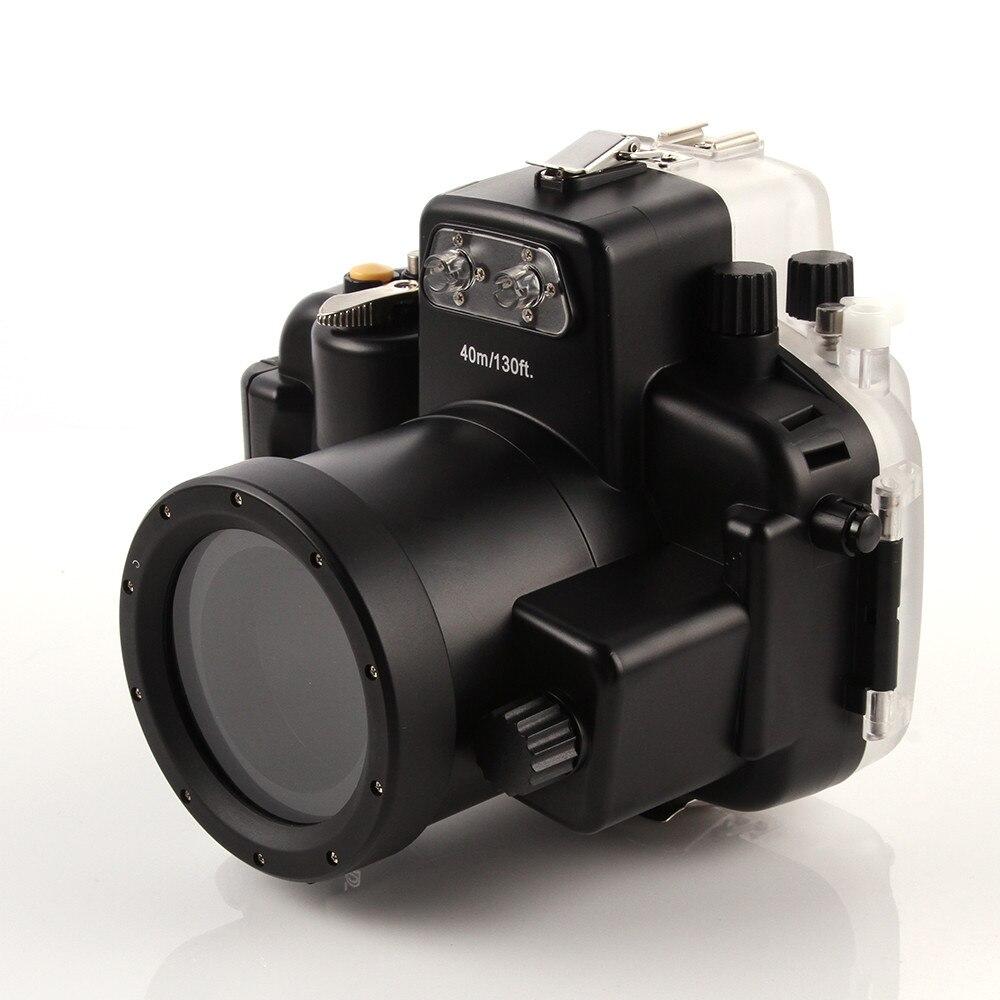 Waterproof Underwater Diving Housing Camera bag Case for nikon d7200 18-55mm lens Meikon