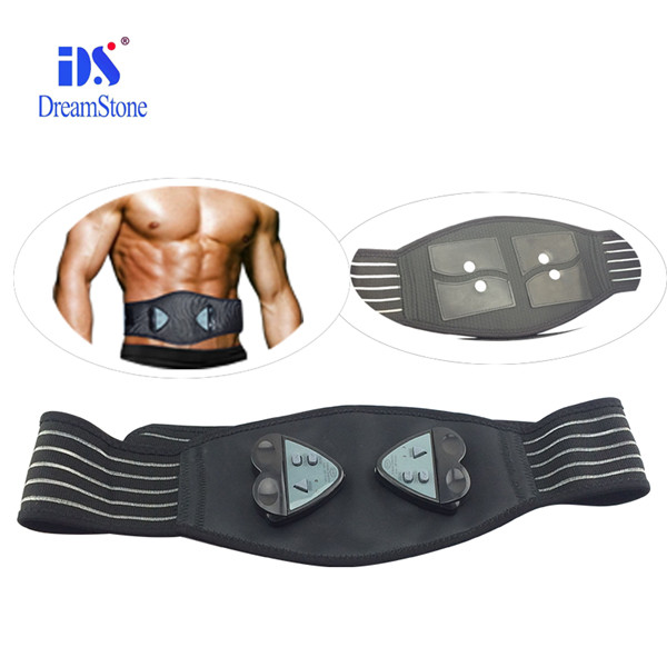2017 fit Free shipping Free dropshipping AB Gymnic health care slimming body massage belt electronic muscle waist massager belt [li] 7 4v 4500mah lithium polymer battery dew point battery with 8 4v1a charger li ion cell