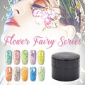 Hot Sale 5g LED&UV Environment Green Nail Gel 14 True Flower Fairy Colors Choose Nail Art Painting Gel Soak Off Gel Nail Polish