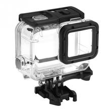 40M Underwater Waterproof Case For GoPro Hero 7 6 5 Black 4 Camera Diving Housing Mount for GoPro Accessory #25 45m waterproof case mount protective housing cover for gopro hero 5 black edition