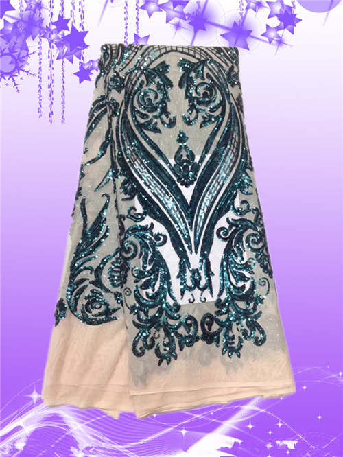 New product 2017 sequin net embroidery fabric, Good price of sequin dress fabric FREE SHIPPINGNew product 2017 sequin net embroidery fabric, Good price of sequin dress fabric FREE SHIPPING