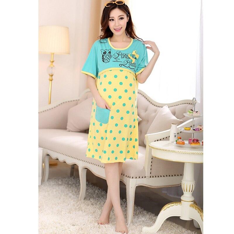 e697598c87595 Breastfeeding maternity pajamas casual maternity sleepwear for ...