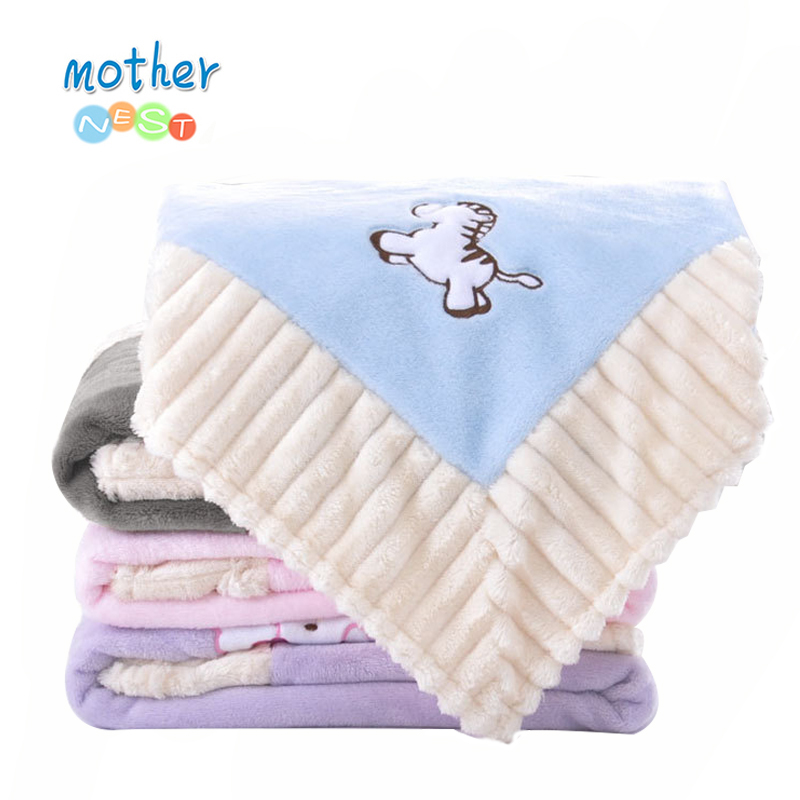 Baby Blankets Newborn Flannel Swaddle Wrap Blanket Super Soft Toddler Infant Bedding Quilt for Bed Sofa Basket Stroller Blankets 120 x 180cm soft cotton knitted blankets for sofa bed office