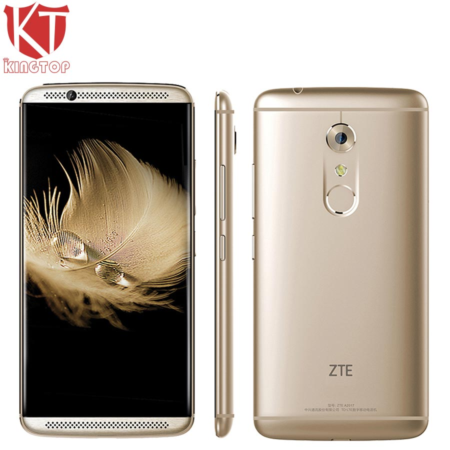 Original ZTE Axon 7 A2017 Mobile Phone Snapdragon 820 Quad Core 4GB RAM 64GB ROM 5