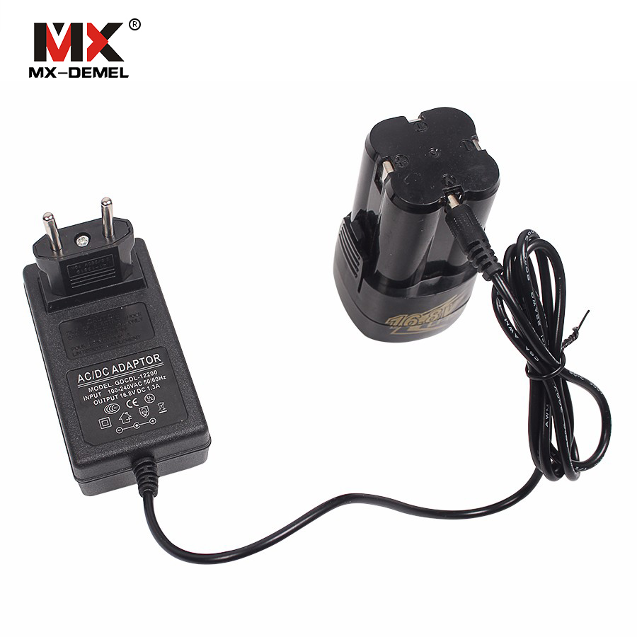 MX-DEMEL 16.8V /12V Electric Drill Chargers Electric Screwdriver Charger Battery Charger Power Tool Accessories