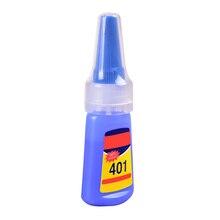 1 бутылка 401 быстрая фиксация мгновенная быстрая клейкая 20 г бутылка сильный супер клей многоцелевой