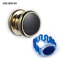125khz RFID card lock locker Electronic Cabinet Lock Magnetic Swipe Card RFID Cabinet Locker Door Locks with free wristband
