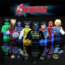 Avengers 3 Infinity War Action Figure Black Panther Thanos Hulk Building Blocks Compatible with LegoINGlys Marvel Toys