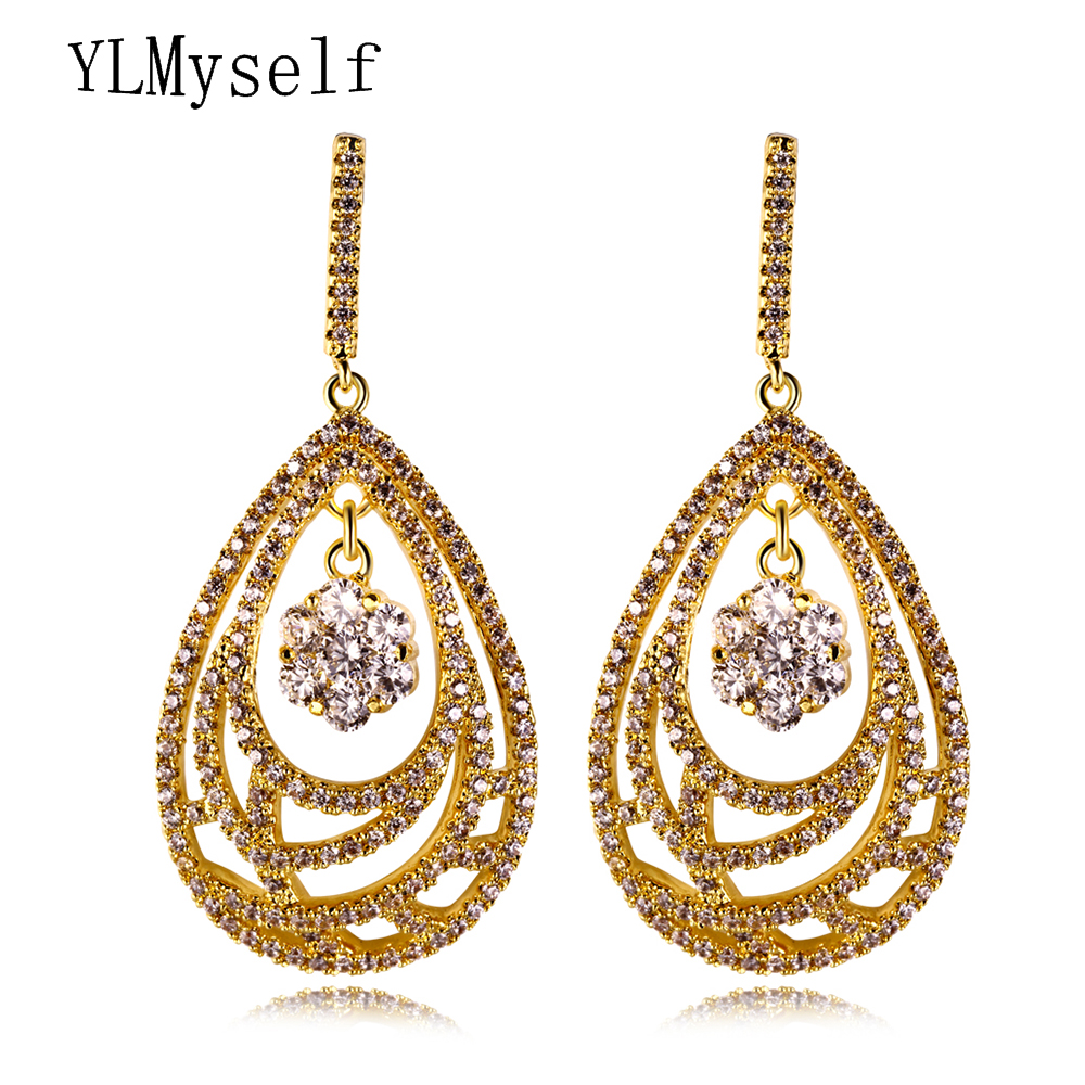 Luxury water drop earrings for women brinco oorbellen aretes online  shopping Elegant dangling earing Jewelry   Accessories. mother necklace ... abac6e19395a