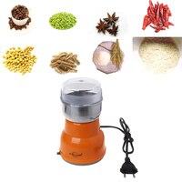 Elektrische Edelstahl Kaffee Bean Grinder Hause Fräsen Maschine Küche 220V