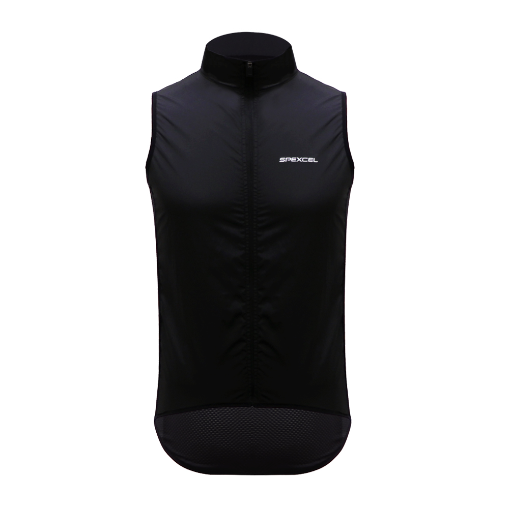 SPEXCEL New 2018 PRO TEAM CYCLING WINDPROOF BIKE VEST LIGHTWEIGHT cycling Gilet mesh fabric at back road MTB Maillot Ciclismo
