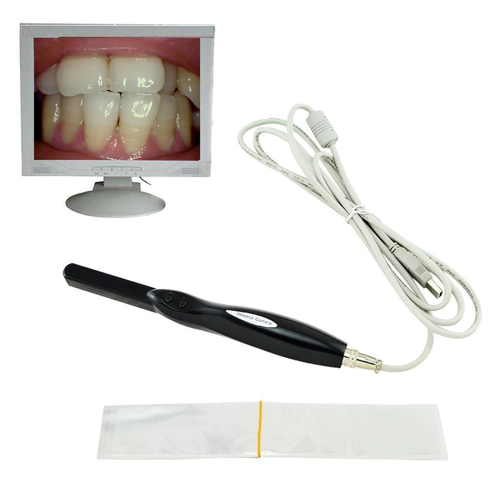 Dental HD Intra Oral Camera 6 Mega Pixels 6-LED Clear Image USB CMOS Auto-focus dental intra oral camera usb vga output