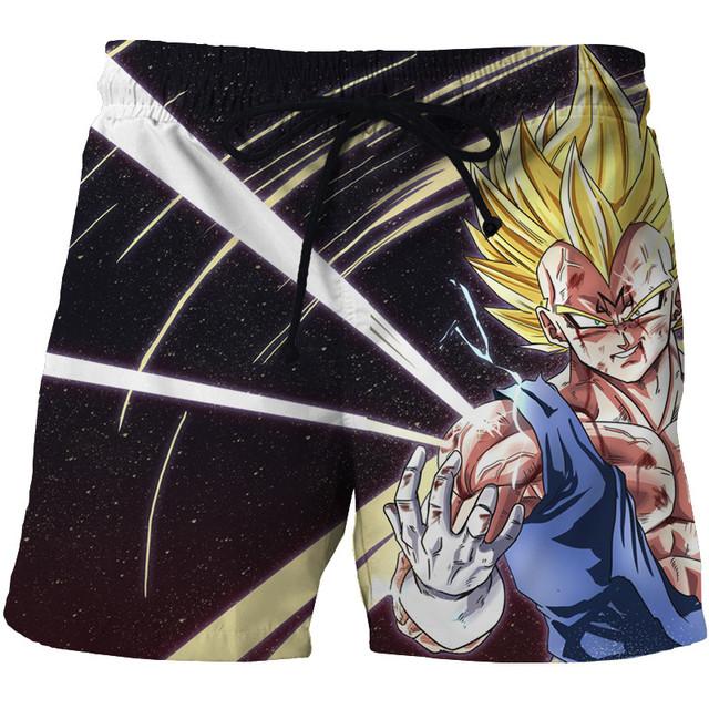 Dragon Ball Z Naruto Casual Men Shorts