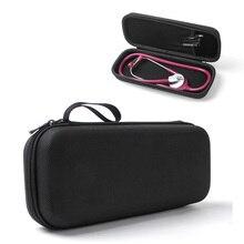 Portable Medical Stethoscope EVA Storage Bag Big Mesh Pockets For Accessories Waterproof Anti-shock Hard Case