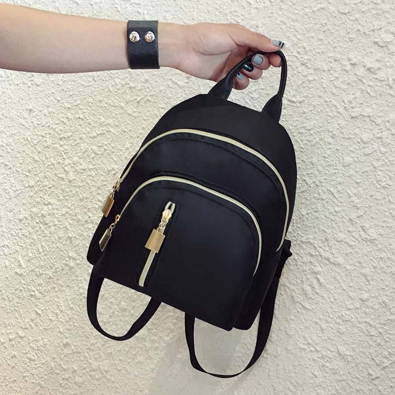 New Hot Women Travel Backpack Oxford Cloth Zipper Shoulder Bag Casual Mini Backpacks YAA99