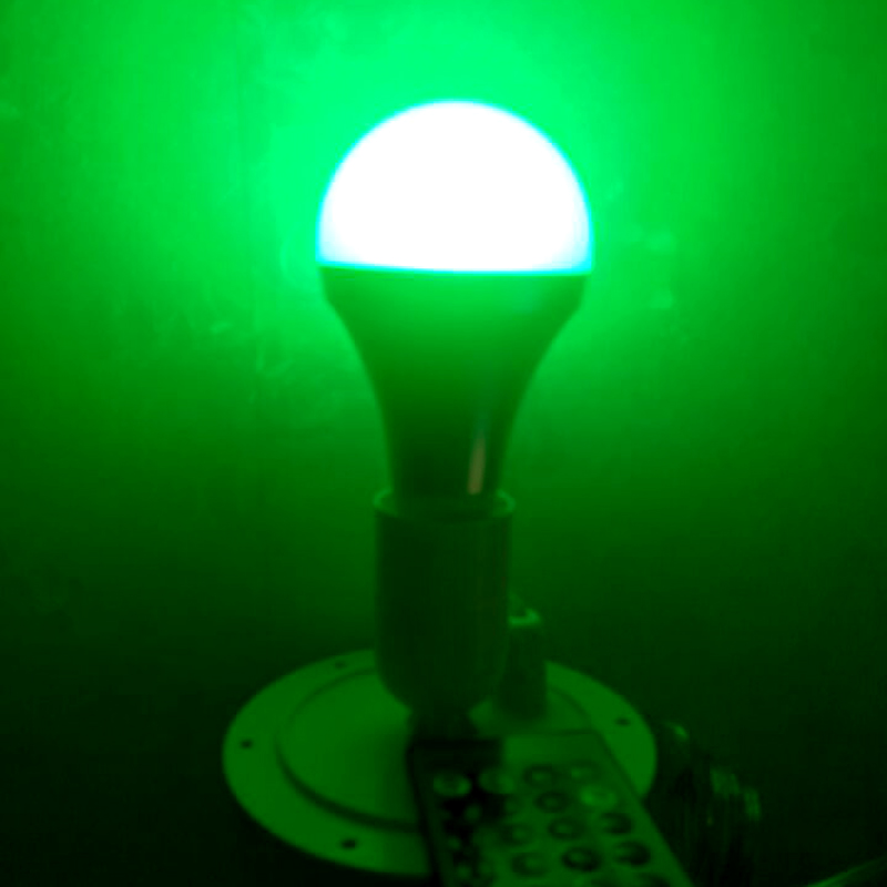 Купить с кэшбэком 120mm direct Lighting led light source RGB 16 color changing for E27 Bulb for led bar furniture for Christmas Decor 10pcs/lot