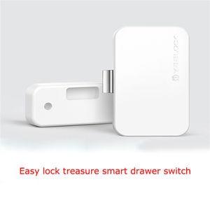 Image 2 - חכם מנעול WiFi bluetooth 4.0 אפליקציה בקר מוסתר קבינט סיסמא מגירת מנעול דיגיטלי תינוק הגנת אבטחת בית מערכת