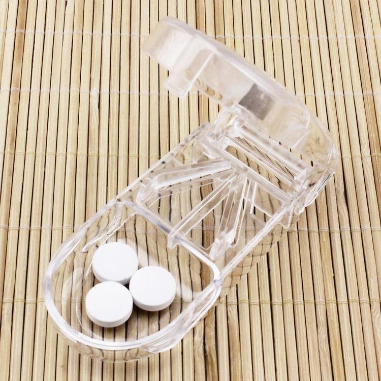 Case Folding Vitamin Medicine Drug Pill Box Case Organizer Tablet Container Cutting Drugs E2S