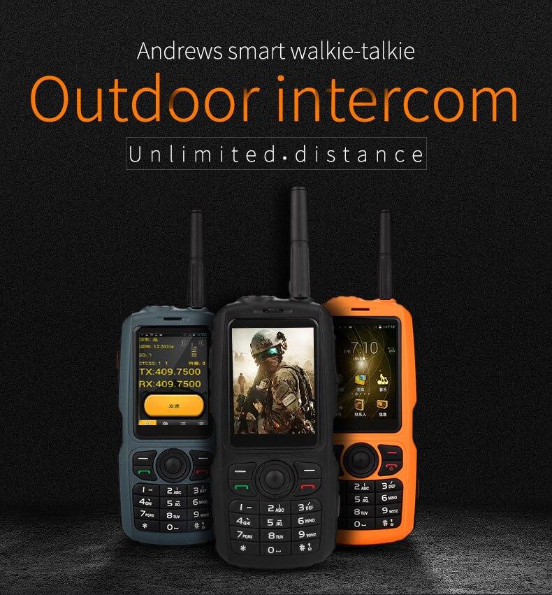 New Original A17 IP67 Robuste Étanche téléphone intelligent Android 4.2 MTK6572 Dual Core GPS Zello PTT 3g WCDMA 512 mb + 4 gb Mobile téléphone