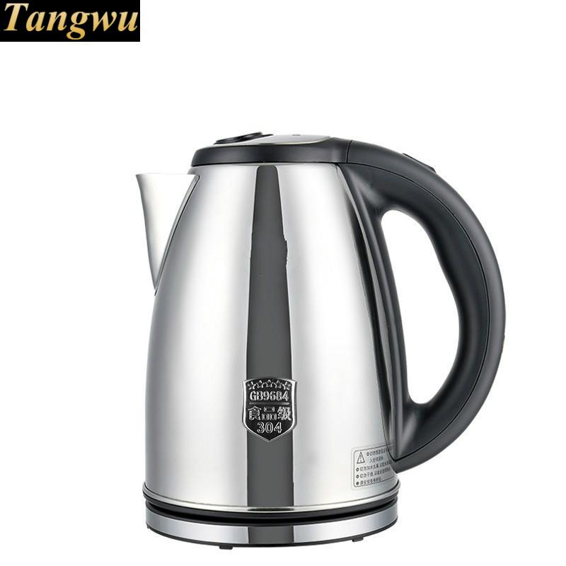 food grade 304 stainless steel kettle kettles 2L large capacity electric teapot electric kettle boiling pot food grade 304 stainless steel large capacity