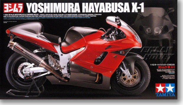 1/12 Suzuki South X - 1 Motorcycle Model 140931/12 Suzuki South X - 1 Motorcycle Model 14093