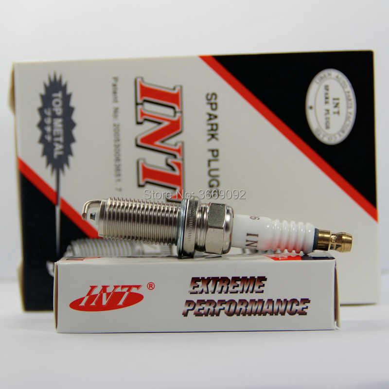 4 יחידות FR7ME מצת רכב A-LFR6 עבור LFR6A LFR5A 0242235636 INT 3381 5344 IKH20 K20HR-U11 KH20TT 22401-AR716 94702-00427 XP5325