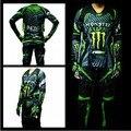2013 1 x jersyes juego de carreras de oxford y pantalones de poliéster. motocross traje