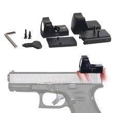Mini mira de punto rojo RMR para caza, colimador Glock Riflex, Airsoft fit 20mm Weaver carril RL5-0004-2, disponible en EE. UU., llegada rápida