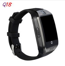 Smartch New Q18 Smart watch with Touch Screen Camera TF card Bluetooth smartwatch For Android/IOS Mobile Phone Apro DZ09 GT08