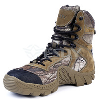 Genuine Leather Esdy Autumn Winter Camouflage Outdoor Climbing Hiking Tactical Boot Military Combat Army Men s Ankle Boots Shoes