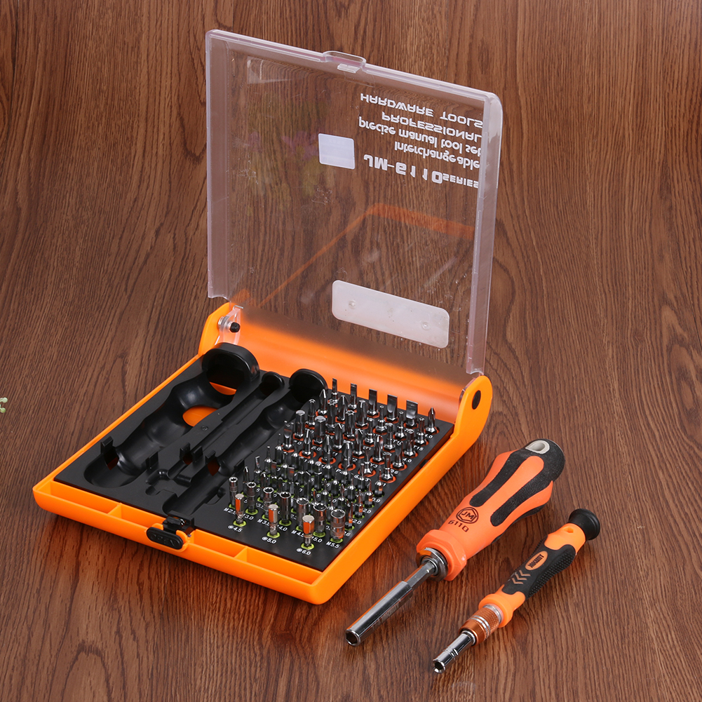 JAKEMY Telecom Mobile Phone Screwdriver Set Repair Tool with the Sleeve Multifunctional Electronic Precision Screwdriver Kits