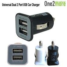2016 2 Port Mini Auto Universal Dual USB Car Charger For iPhone iPad iPod 3 1A