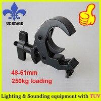 Quick Rig clamp aluminum heavy duty hook clamp fits 2 truss 550lb