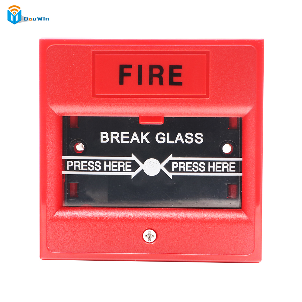Emergency Break Glass Fire Alarm Door High quality  Release Access Control Exit Button Access Control EMERGENCY DOOR RELEASE emergency door release glass break fire alarm button white ac 220v dc 24v