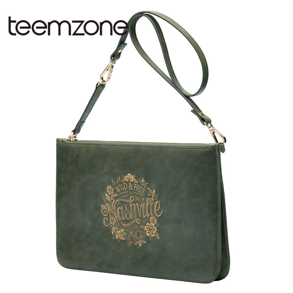 Teemzone 2018 Lovely Rabbit Print Women's Shoulder Bag Original Genuine Leather Female Clutch Bag Girl Bag Messenger Bag S8006 майка print bar jack rabbit