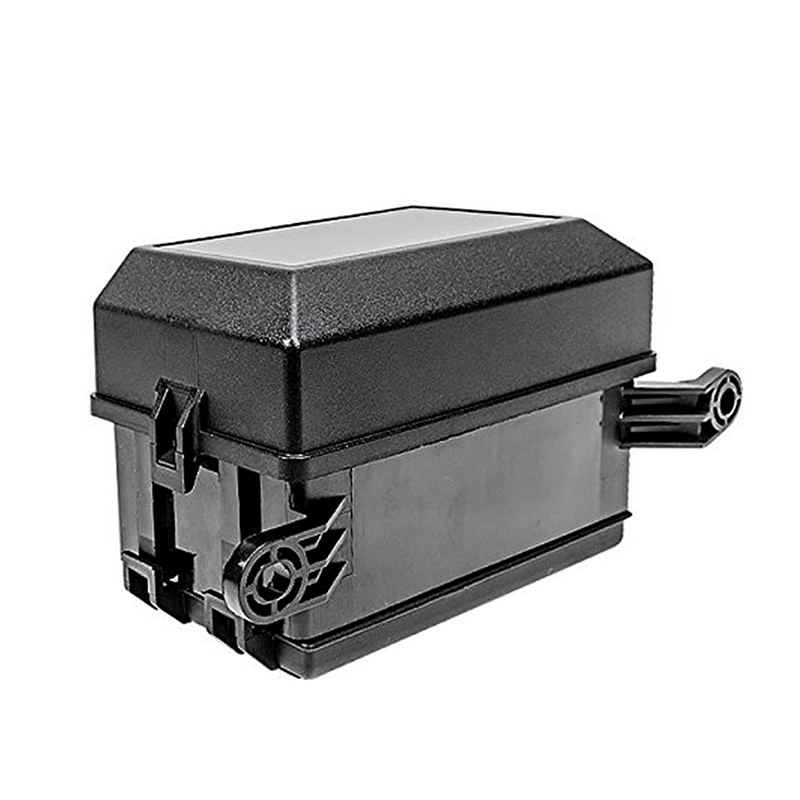 Fuse Box Auto 6 Relay Block Holder 5 Road For Nacelle Car Trunk SUV Insurance