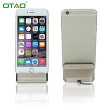 Настольное Зарядное Устройство Док-Станция USB Sync Адаптер Mobile Smart Телефон зарядное Устройство Для Apple iPhone 5 SE 6 6 S 7 плюс