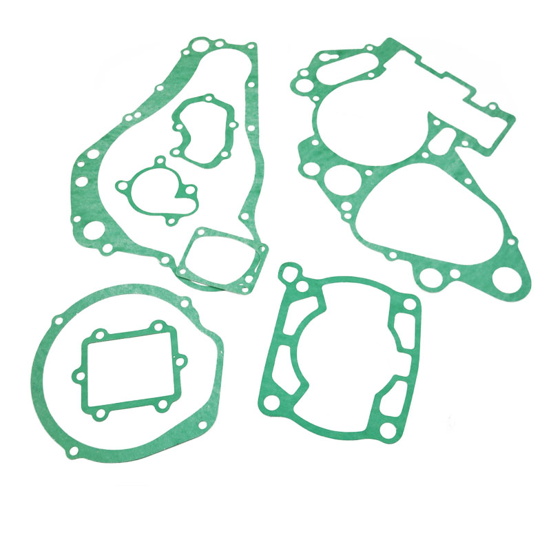 LOPOR Motorcycle engine gaskets include Crankcase Covers <font><b>cylinder</b></font> Gasket Kit Set For <font><b>SUZUKI</b></font> RM250 <font><b>RM</b></font> <font><b>250</b></font> 1994 1995 image