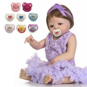 Image 5 - 1PC 최신 패션 시뮬레이션 인형 자기 젖꼭지 다시 태어난 인형 아기 장난감 자기 젖꼭지 귀여운 선물 아기 젖꼭지